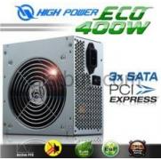 Highpower HPE-400-A12S 400W ECO Serisi 20+4 Pin 12cm Fan Aktif PFC Güç Kaynağı